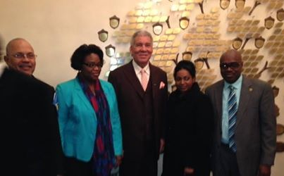 Carroll Attends Interfaith Service Celebrating 35th