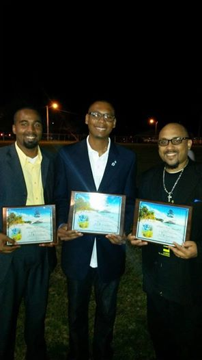 Photo: BIG THANKS to the GB Independence Committee for recently  honoring me and several other Youth Leaders that promote peace and service in our community....CONGRATS to my Brothers in Christ Kyle Maycock & Bruce Hyppe Russell for being honored as well.....TO GOD BE ALL THE GLORY!