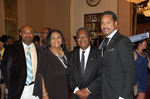 Photo: Pictured at the official Bahamas independence anniversary reception held by the Embassy of The Bahamas and Consular Annex at the St. Regis Hotel, 923 16th and K Streets, N.W., in downtown Washington on Friday, July 11, from left to right are: Mr. Chet Neymour, Deputy Chief of Mission, Bahamas Embassy; Mrs. Paulette Zonicle, Bahamas Consul General to Washington, D.C.; His Excellency Dr. Eugene Newry, Bahamas Ambassador to the United States; and Mr. Michael C. Fountain, Bahamas Honorary Consul to Chicago.